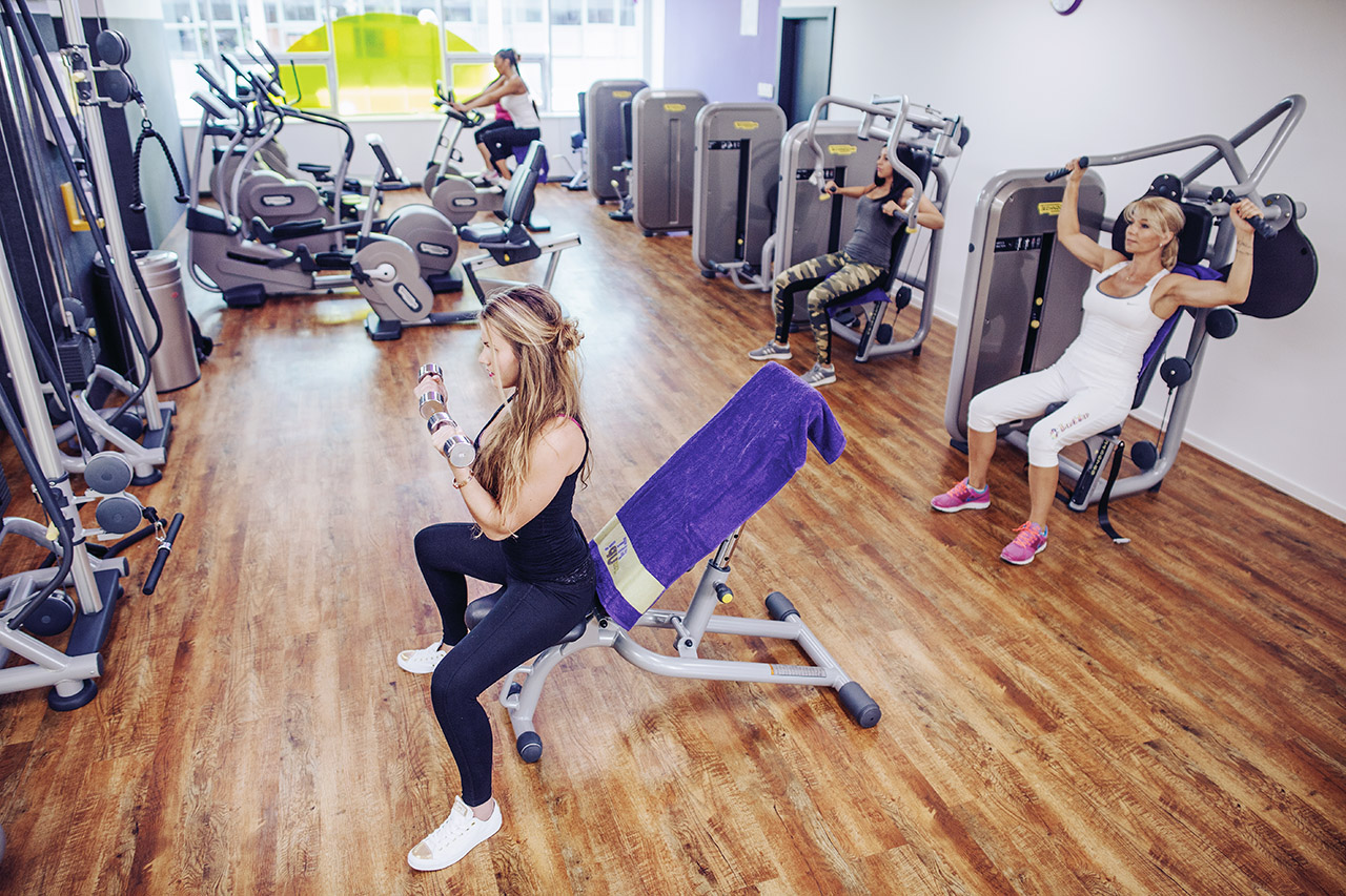 ladies zona fitness centrum fitup